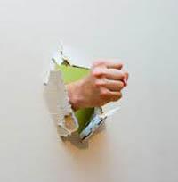 fist thru wall