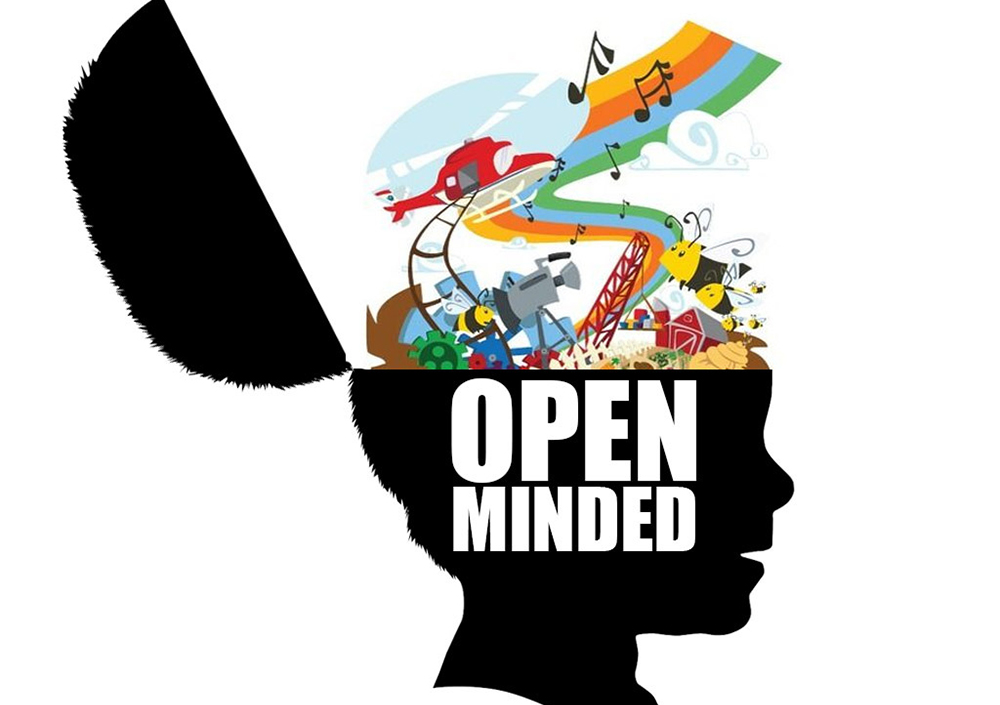 Image result for Be open-minded